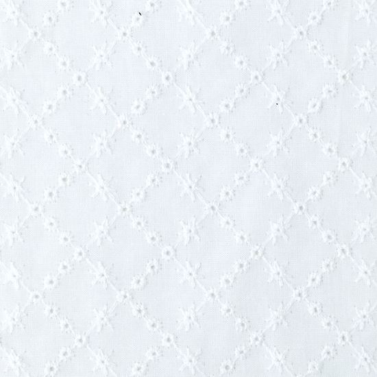 Image sur Coupon 0,35  x 140 cm : Broderie anglaise